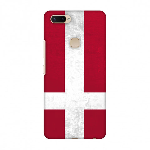 Love For Denmark Slim Hard Shell Case For Vivo X20 Plus