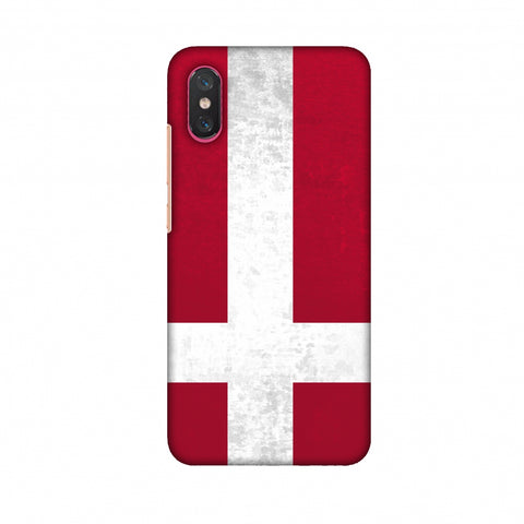 Love For Denmark Slim Hard Shell Case For Xiaomi Mi 8 Pro