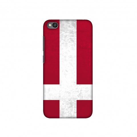 Football - Love For Denmark Slim Hard Shell Case For Redmi Go