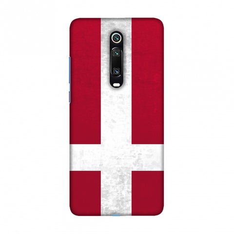 Football - Love For Denmark Slim Hard Shell Case For Redmi K20/K20 Pro