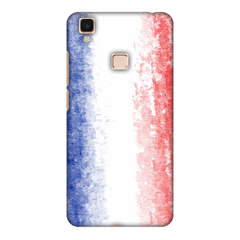 Love For France Slim Hard Shell Case For Vivo V3 Max