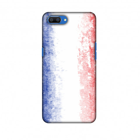 Love For France Slim Hard Shell Case For Oppo Realme C1