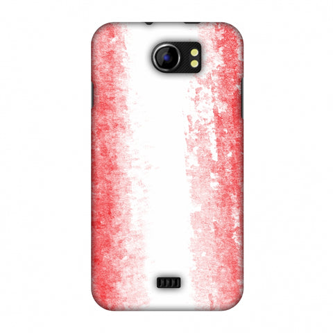 Love For Peru Slim Hard Shell Case For Micromax Canvas 2 A110