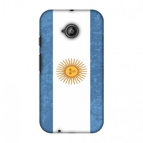 Love For Argentina Slim Hard Shell Case For Motorola Moto E 2nd Gen