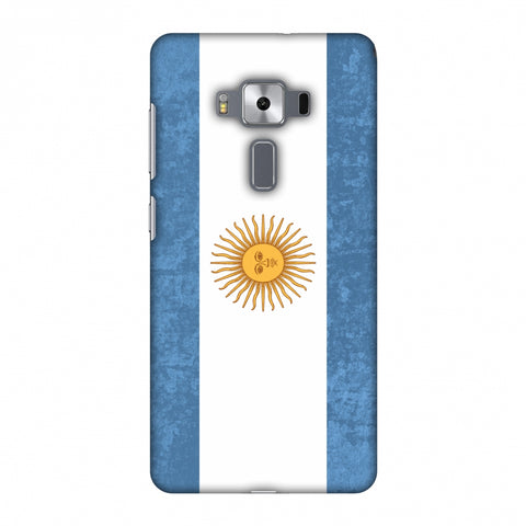 Love For Argentina Slim Hard Shell Case For Asus Zenfone 3 Deluxe ZS570KL