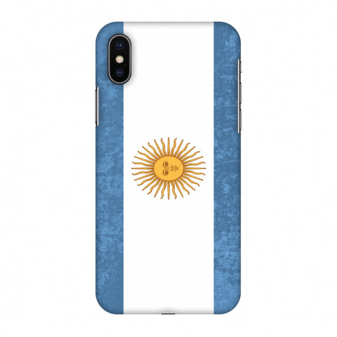 Love For Argentina Slim Hard Shell Case For Apple iPhone X