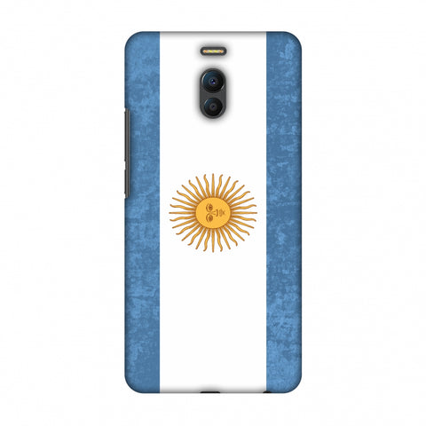 Love For Argentina Slim Hard Shell Case For Meizu Note 6