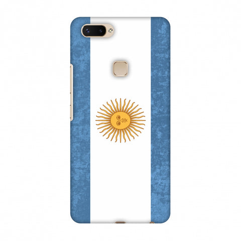 Love For Argentina Slim Hard Shell Case For Vivo X20 Plus