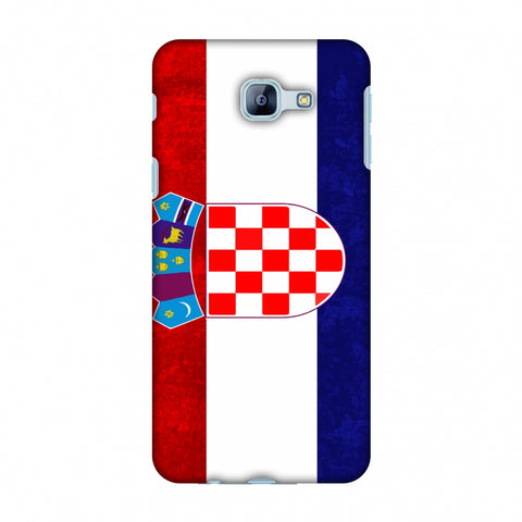 Love For Croatia Slim Hard Shell Case For Samsung Galaxy A8 2016