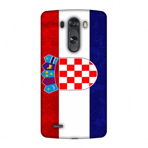 Love For Croatia Slim Hard Shell Case For LG G4