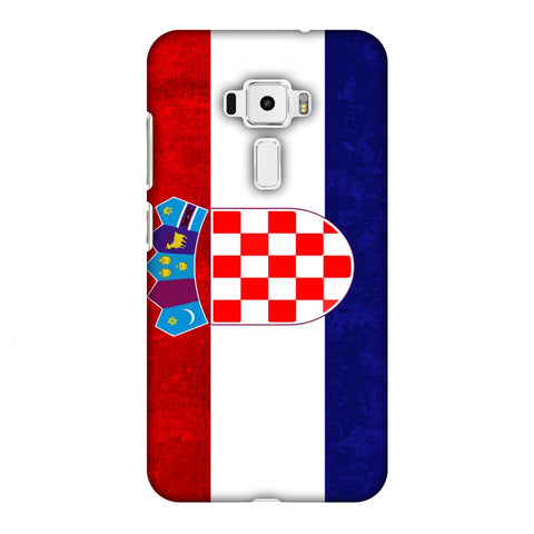 Love For Croatia Slim Hard Shell Case For Asus Zenfone 3 ZE520KL