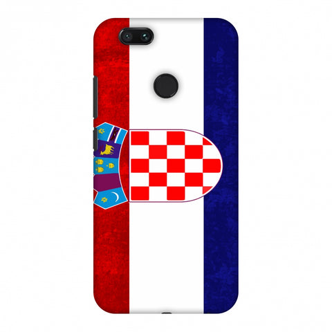 Love For Croatia Slim Hard Shell Case For Xiaomi MI A1-5X