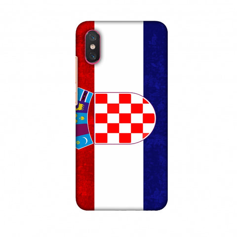 Love For Croatia Slim Hard Shell Case For Xiaomi Mi 8 Pro