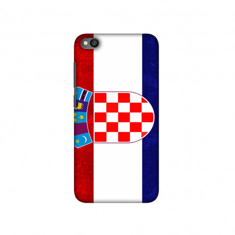 Football - Love For Croatia Slim Hard Shell Case For Redmi Go
