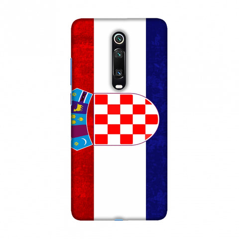 Football - Love For Croatia Slim Hard Shell Case For Redmi K20/K20 Pro