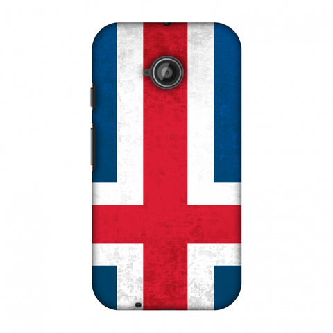 Love For IcelAnd Slim Hard Shell Case For Motorola Moto E 2nd Gen