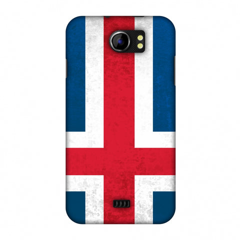 Love For IcelAnd Slim Hard Shell Case For Micromax Canvas 2 A110