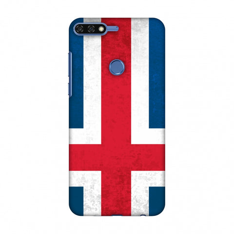 Love For IcelAnd Slim Hard Shell Case For Huawei Honor 7C