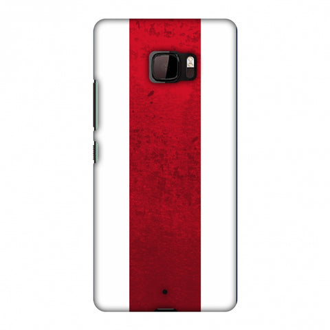 Love For Costa Rica Slim Hard Shell Case For HTC U Ultra