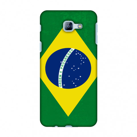 Love For Brazil Slim Hard Shell Case For Samsung Galaxy A8 2016