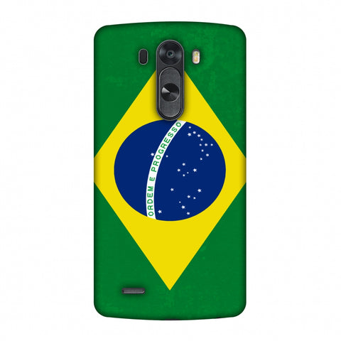 Love For Brazil Slim Hard Shell Case For LG G4