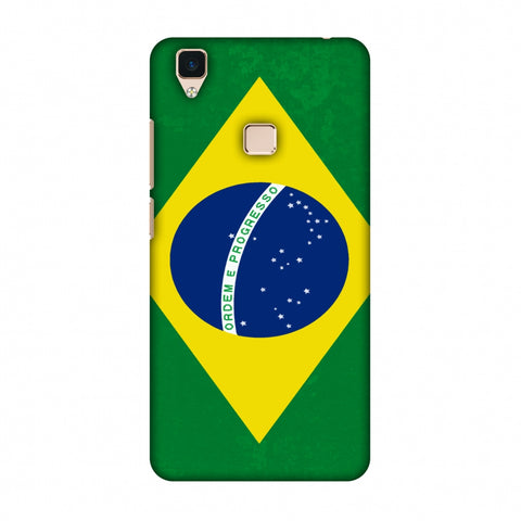 Love For Brazil Slim Hard Shell Case For Vivo V3