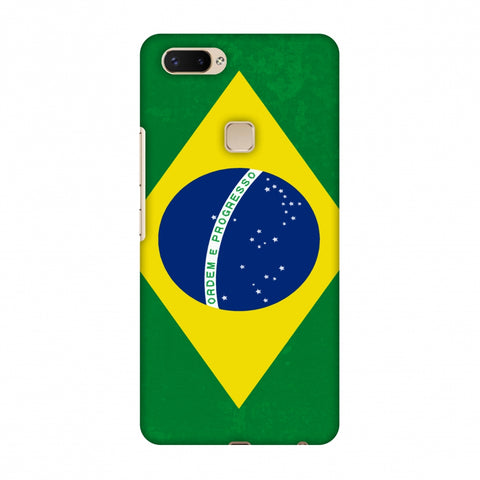 Love For Brazil Slim Hard Shell Case For Vivo X20 Plus