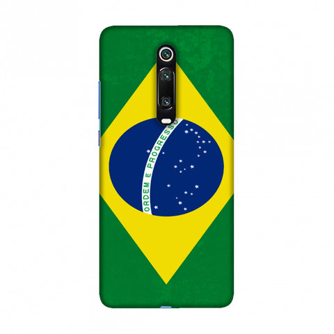 Football - Love For Brazil Slim Hard Shell Case For Redmi K20/K20 Pro