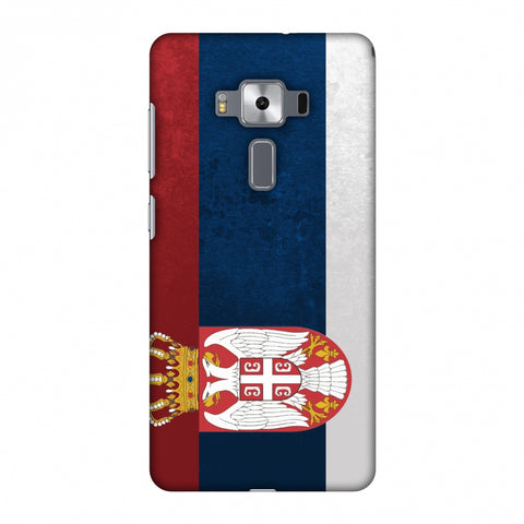 Love For Serbia Slim Hard Shell Case For Asus Zenfone 3 Deluxe ZS570KL