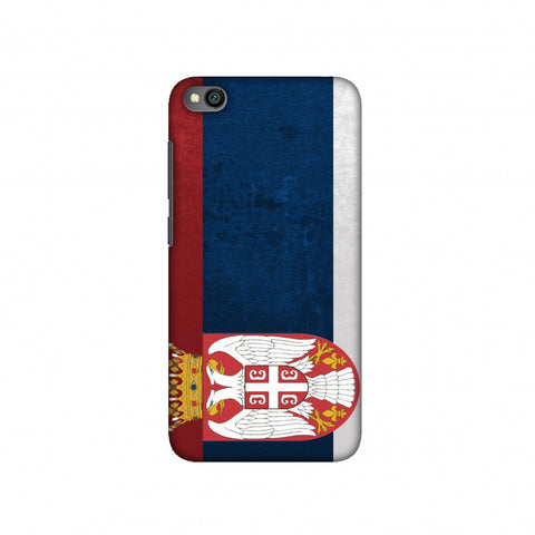 Football - Love For Serbia Slim Hard Shell Case For Redmi Go