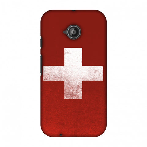 Love For SwitzerlAnd Slim Hard Shell Case For Motorola Moto E 2nd Gen