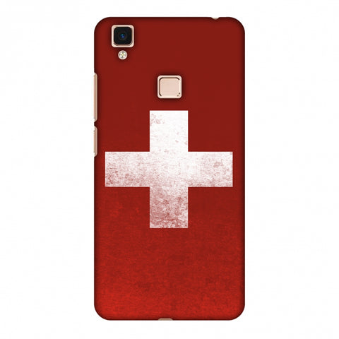 Love For SwitzerlAnd Slim Hard Shell Case For Vivo V3 Max