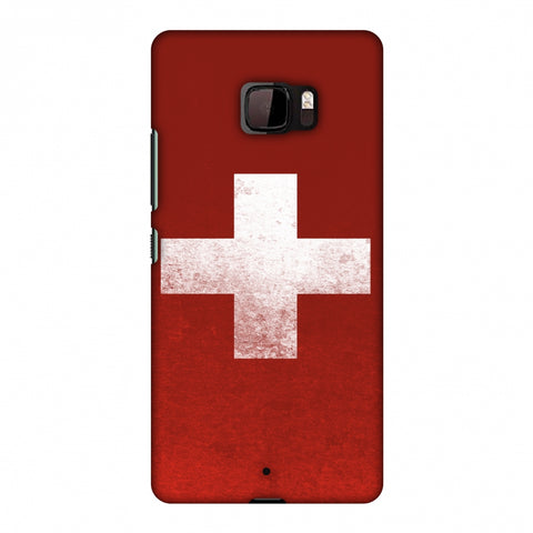 Love For SwitzerlAnd Slim Hard Shell Case For HTC U Ultra