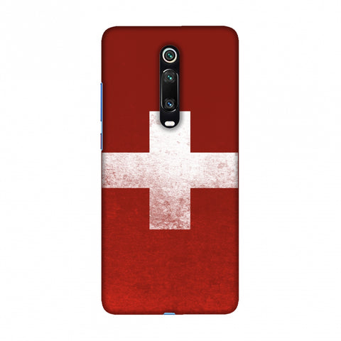 Football - Love For SwitzerlAnd Slim Hard Shell Case For Redmi K20/K20 Pro