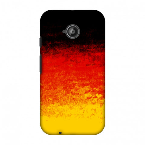 Love For Belgium Slim Hard Shell Case For Motorola Moto E 2nd Gen