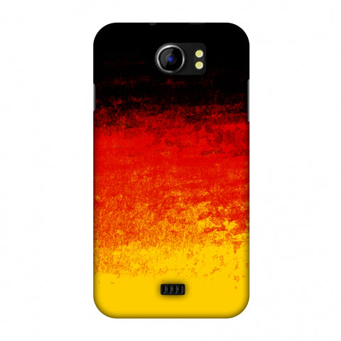 Love For Belgium Slim Hard Shell Case For Micromax Canvas 2 A110