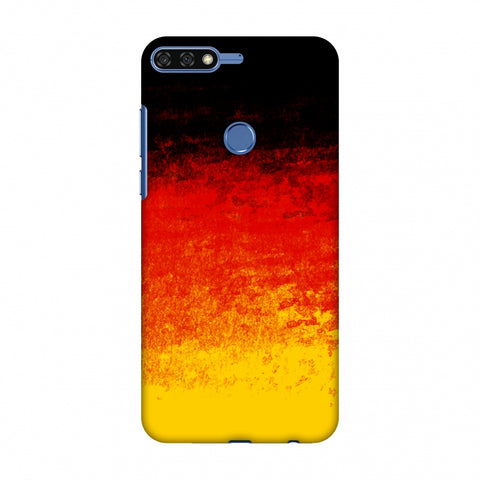Love For Belgium Slim Hard Shell Case For Huawei Honor 7C