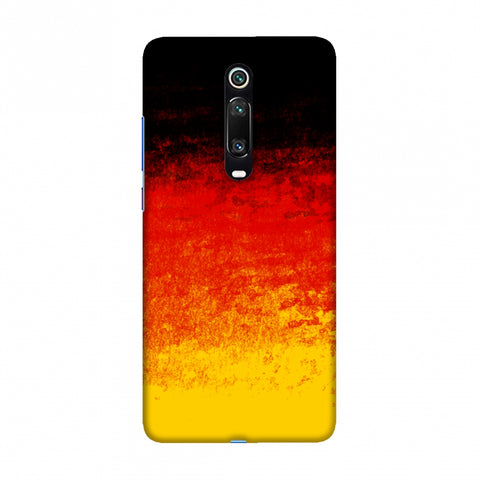 Football - Love For Belgium Slim Hard Shell Case For Redmi K20/K20 Pro