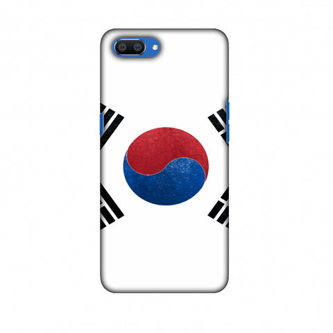 Love For South Korea Slim Hard Shell Case For Oppo Realme C1