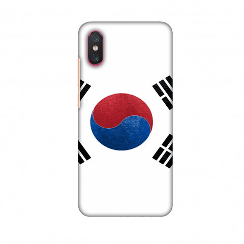 Love For South Korea Slim Hard Shell Case For Xiaomi Mi 8 Pro