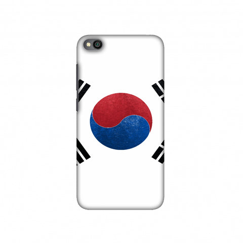 Football - Love For South Korea Slim Hard Shell Case For Redmi Go