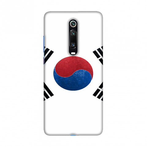 Football - Love For South Korea Slim Hard Shell Case For Redmi K20/K20 Pro