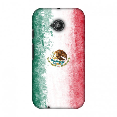 Love For Mexico Slim Hard Shell Case For Motorola Moto E 2nd Gen