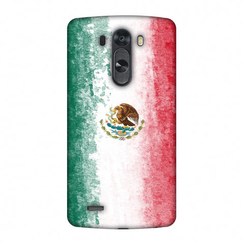 Love For Mexico Slim Hard Shell Case For LG G4