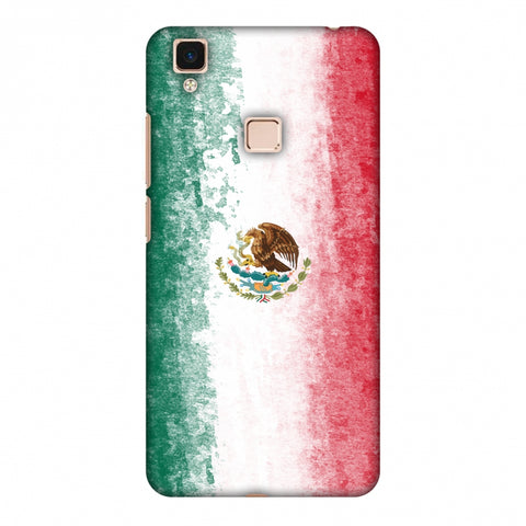 Love For Mexico Slim Hard Shell Case For Vivo V3 Max