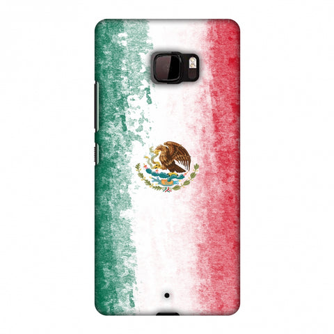 Love For Mexico Slim Hard Shell Case For HTC U Ultra