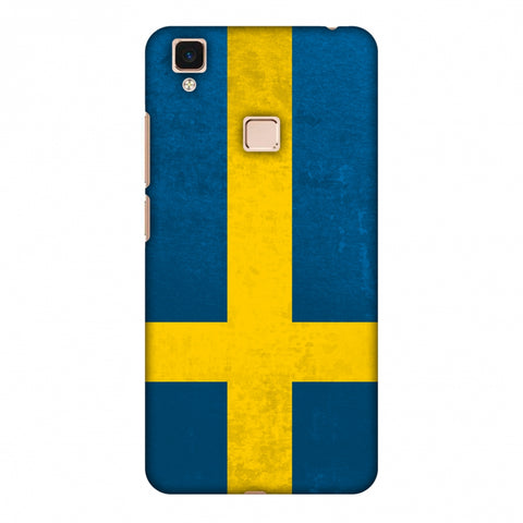Love For Sweden Slim Hard Shell Case For Vivo V3 Max