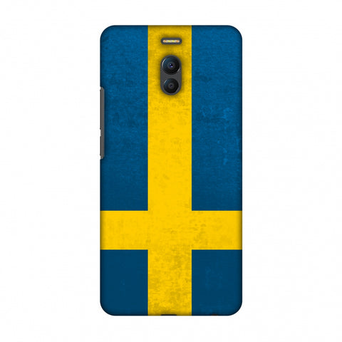 Love For Sweden Slim Hard Shell Case For Meizu Note 6