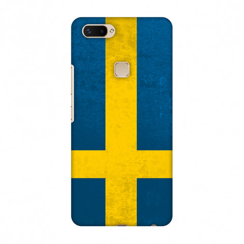 Love For Sweden Slim Hard Shell Case For Vivo X20 Plus