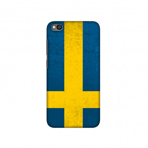 Football - Love For Sweden Slim Hard Shell Case For Redmi Go